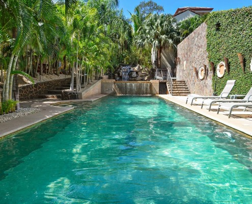 Relax in Costa Rica Pool Side