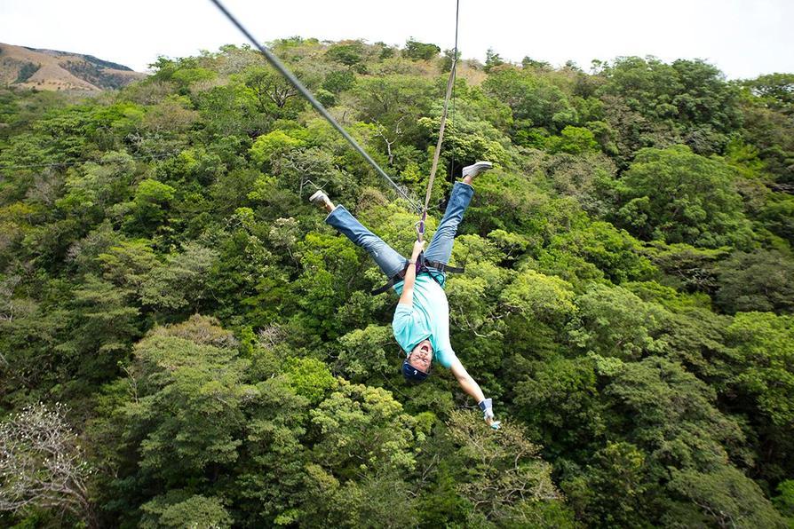 Zip Lining in Costa Rica
