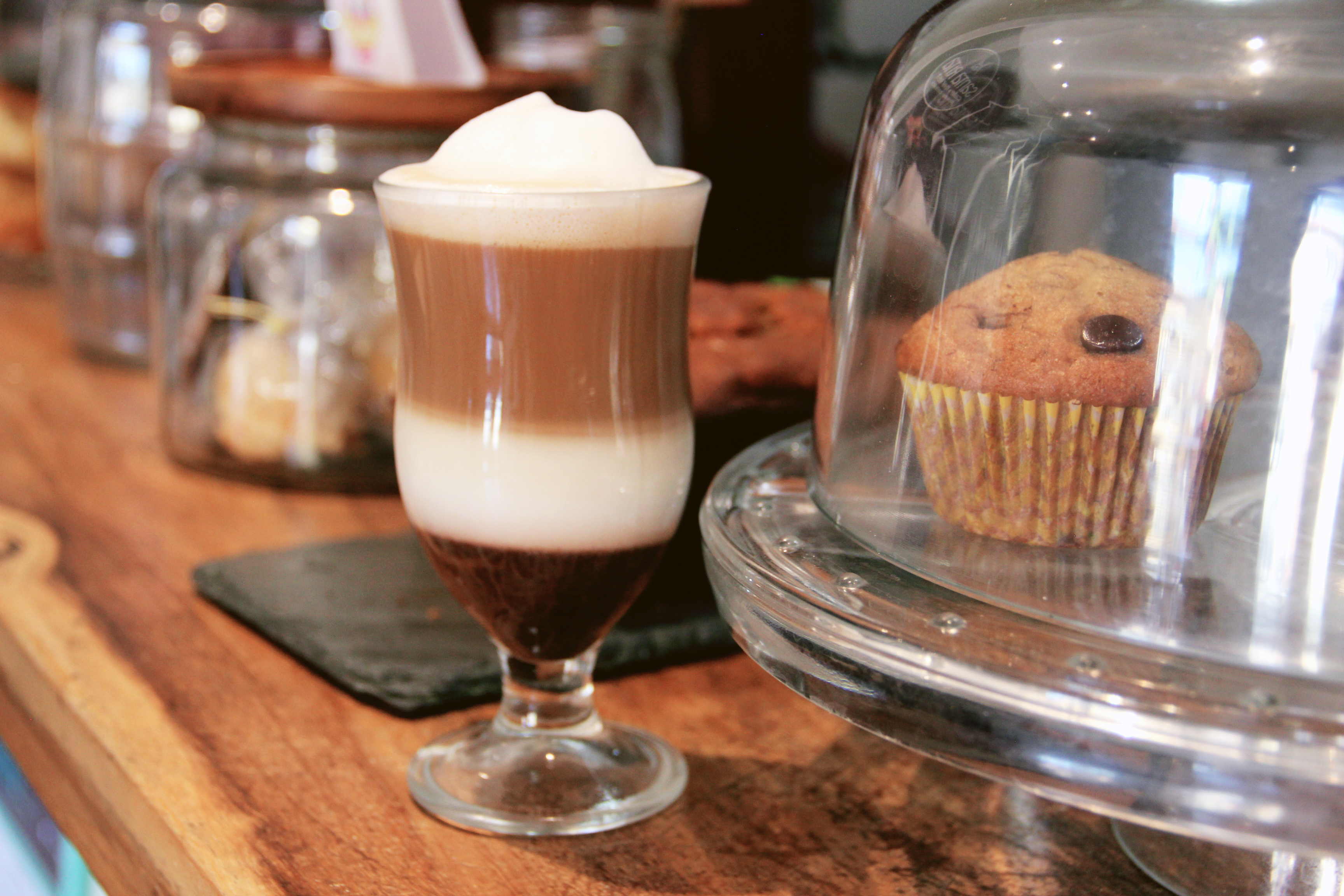 Costa Rican coffee latte