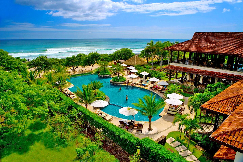 Hacienda Pinilla travel guide - Beach Club aerial view
