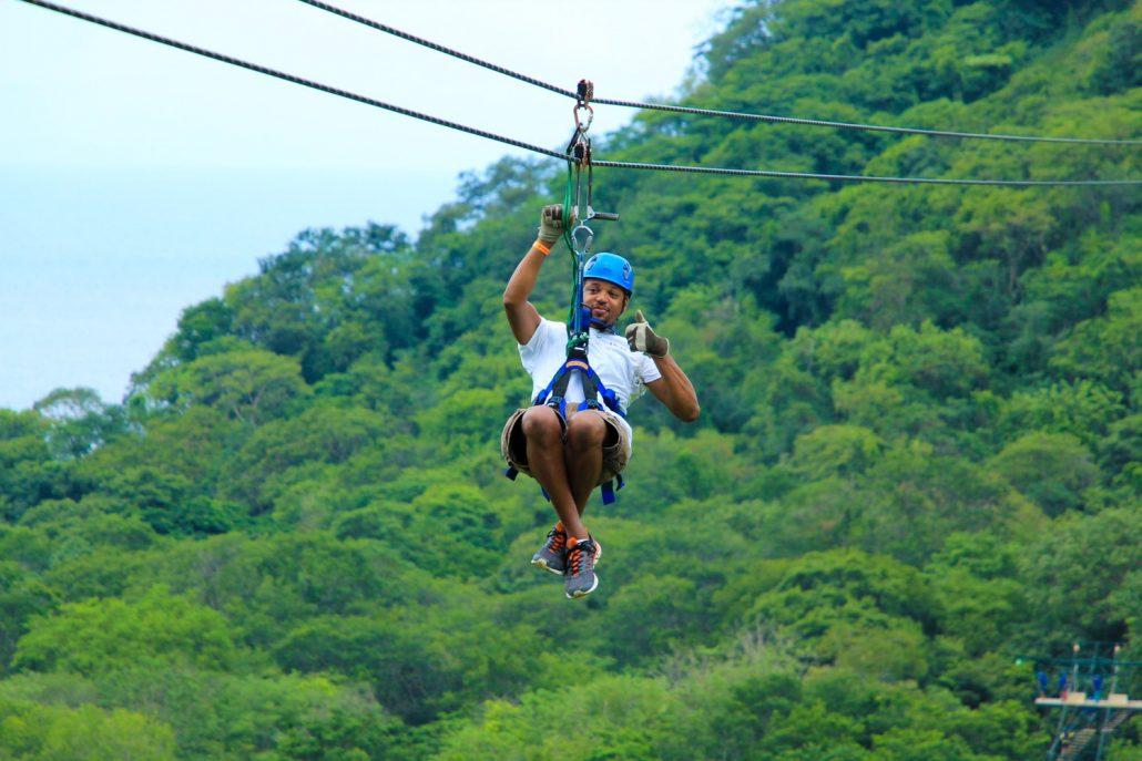 zip line Tamarindo