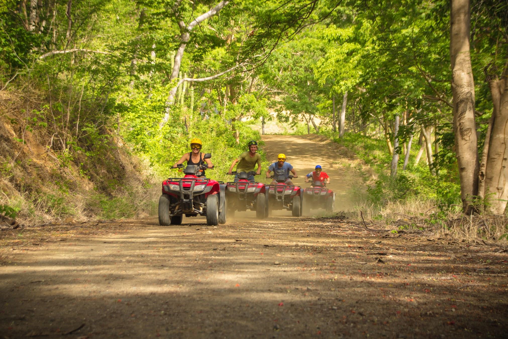 Tamarindo ATV tour to secluded beaches