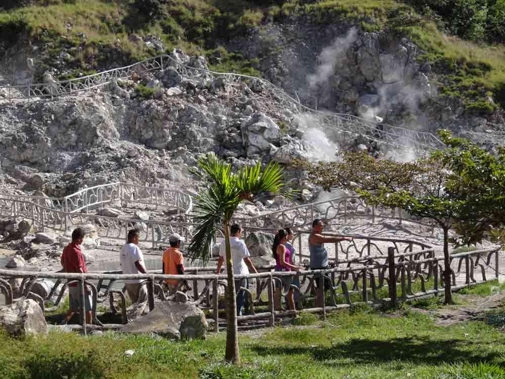 Costa Rica volcano Miravalles
