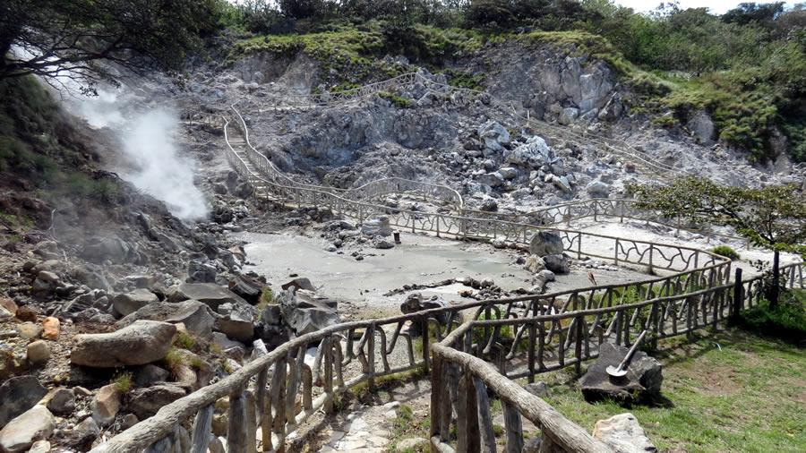 hike to Miravalles Volcano