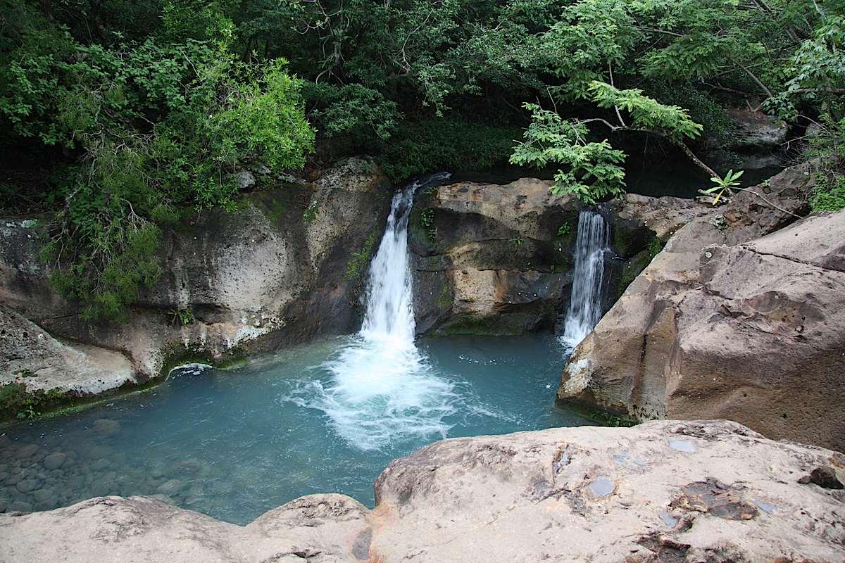 waterfall at Rincon de la Vieja volcano
