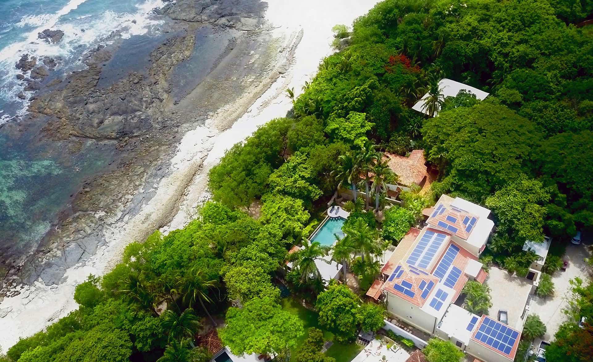 Casa de Luz oceanfront vacation rental in Tamarindo, Costa Rica