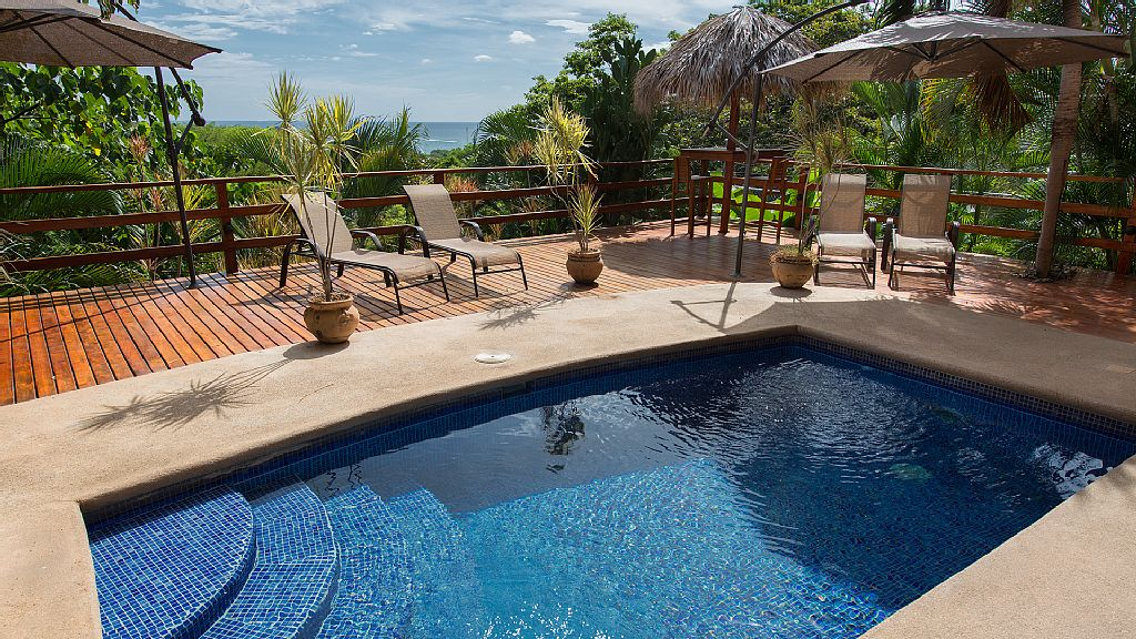 large family vacation rental in Tamarindo