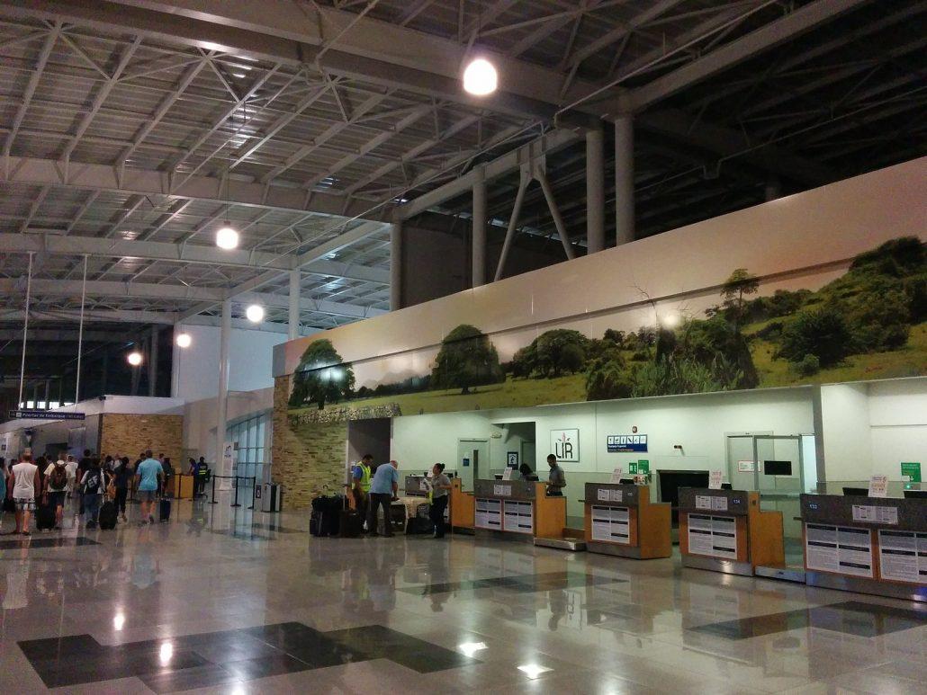Liberia International Airport modern facilities