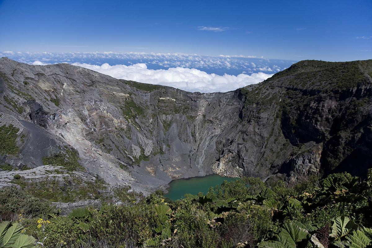 Costa Rica's Irazu Volcano