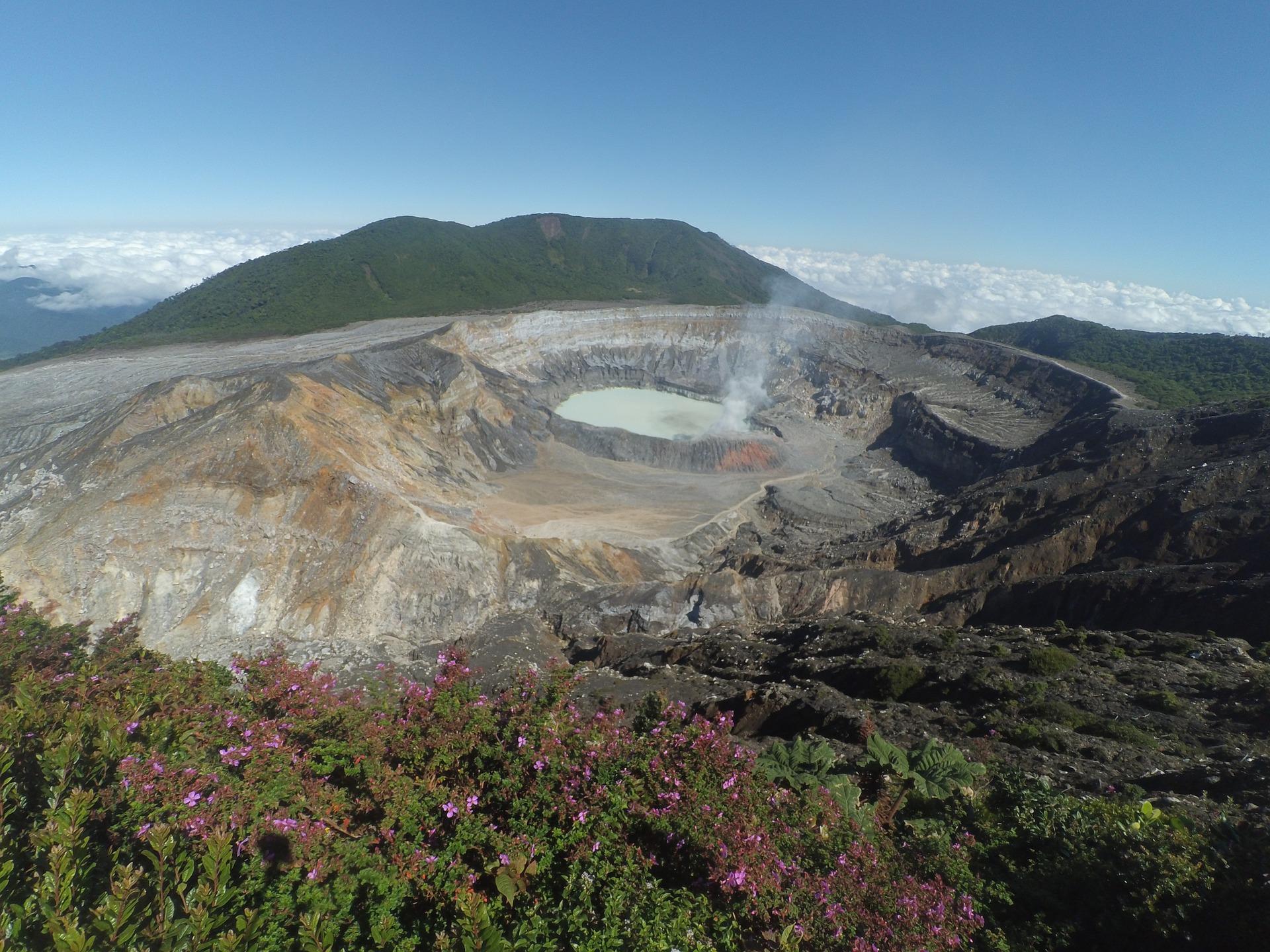 Pops Volcano in Costa Rica