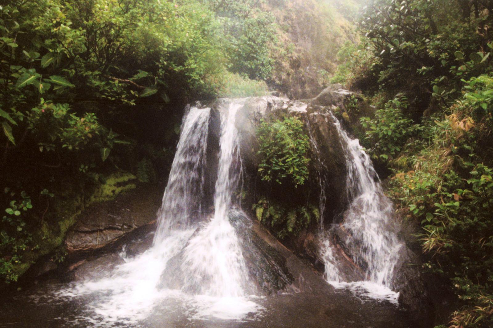 Waterfalls in Rincon de la Vieja National Park