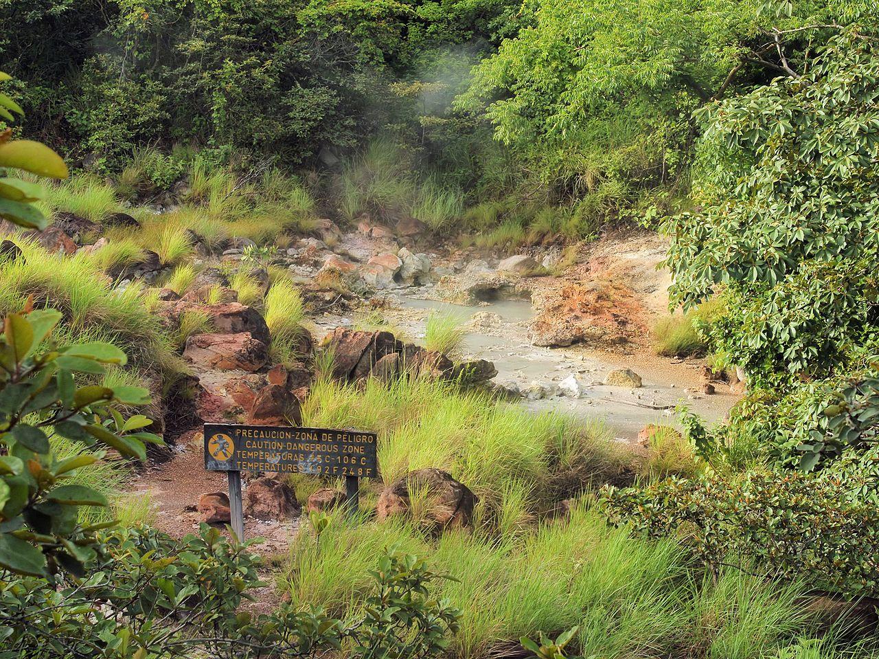 Rincon de la Vieja National Park trails