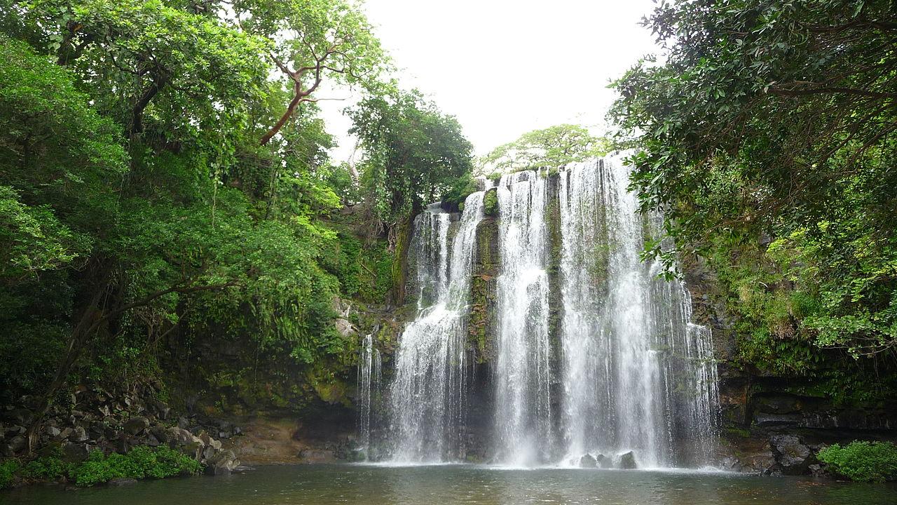 Llanos de Cortes is one of the best waterfalls in Guanacaste