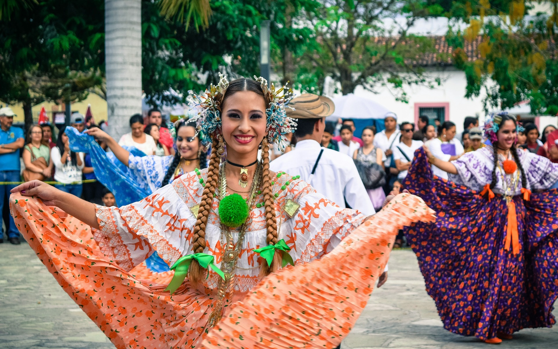 Guanacaste Day typical dress