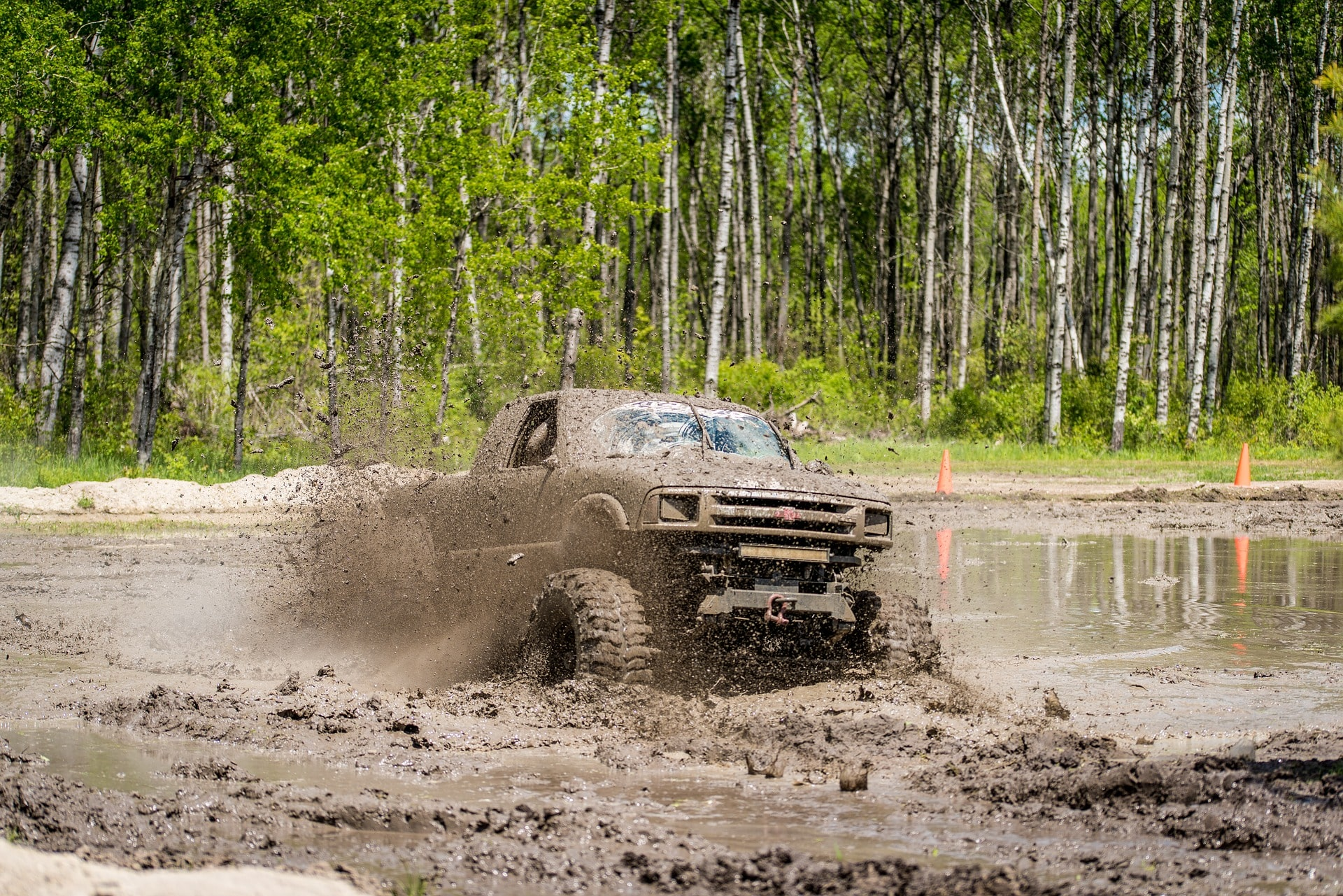 4wd in mud
