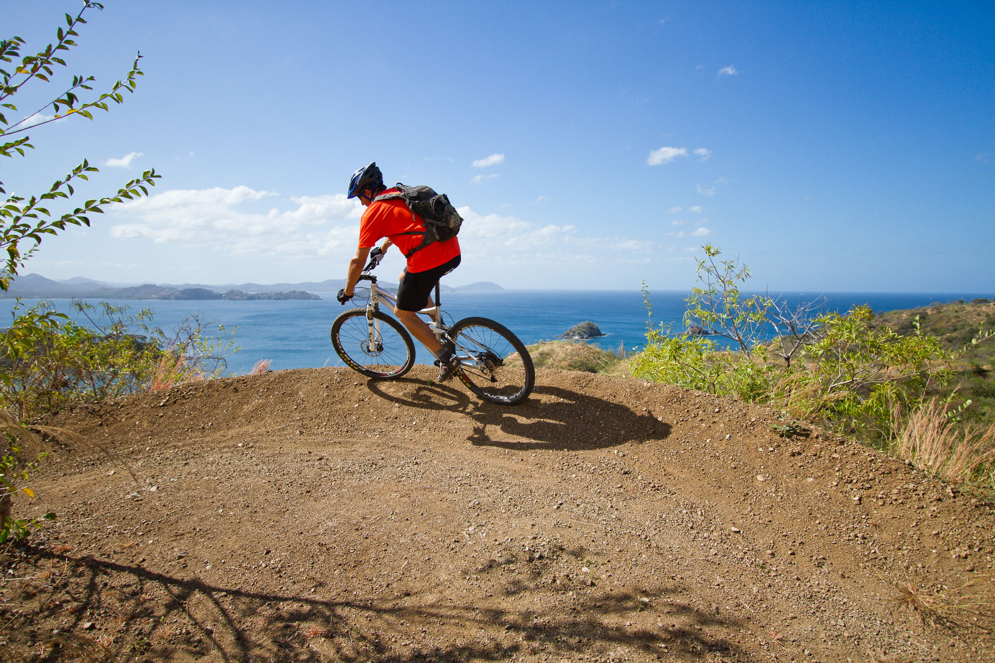 Mountain Bike with a view
