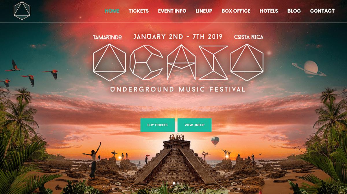 Ocaso Underground Music Festival Tamarindo-min