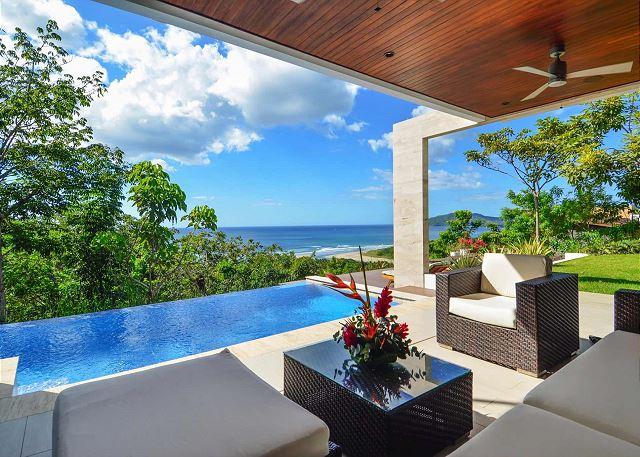 Casa Lomas del Mar Tamarindo ocean-view vacation rental