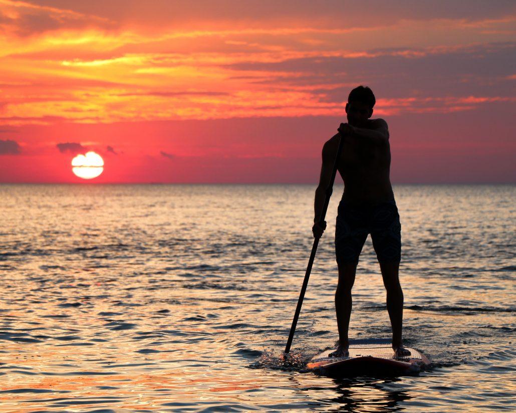Tamarindo sunset tours - stand-up paddle boarding