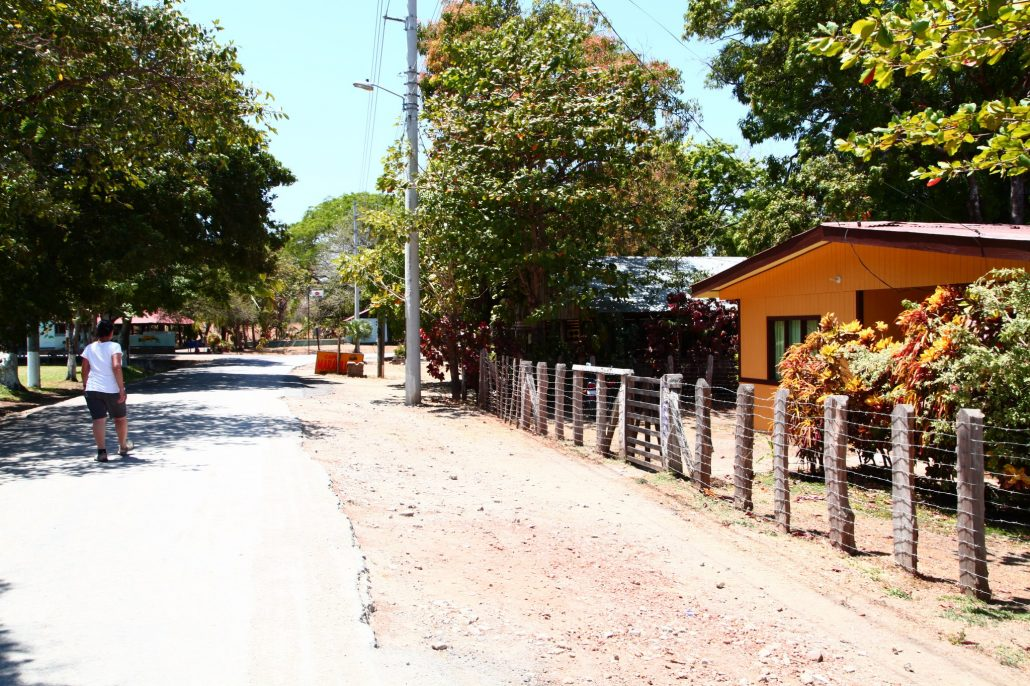 dusty streets of Guaitil