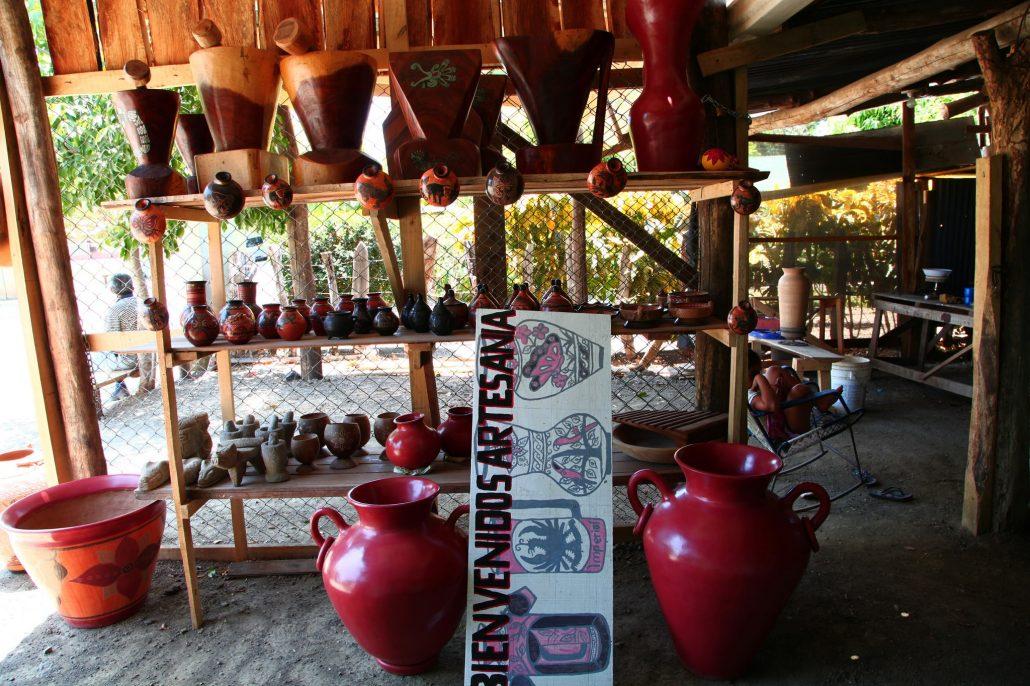 Guaitil, cradle of Chorotega pottery