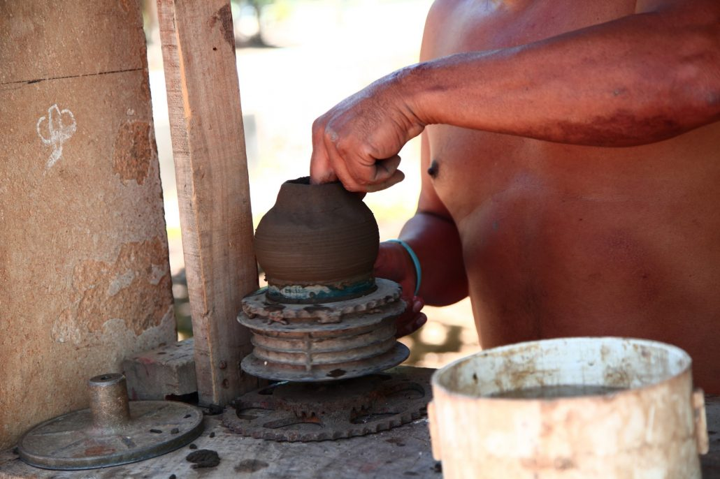 Guaitil traditional pottery