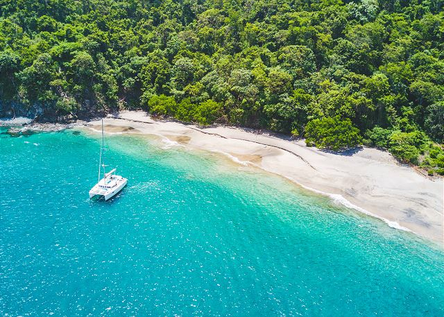 Pacific Soul catamaran rental Costa Rica