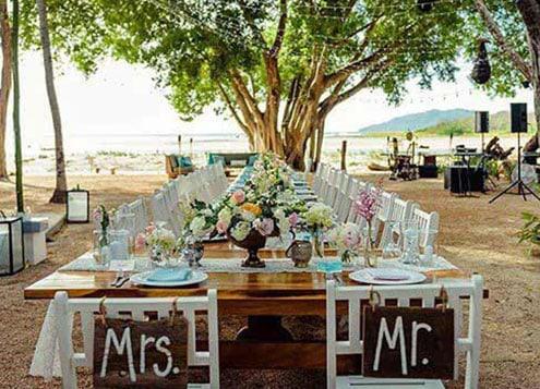Outdoor Wedding in Costa Rica