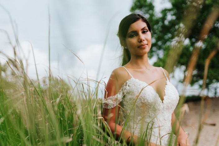 Bride in Casa Costa Blanca