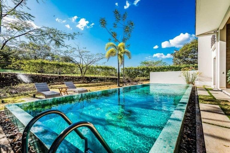 Casa Moderna vacation rental Playa Langosta Costa Rica